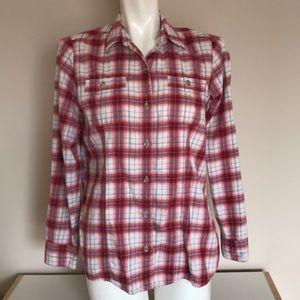 Eddie Bauer Flannel Shirt M